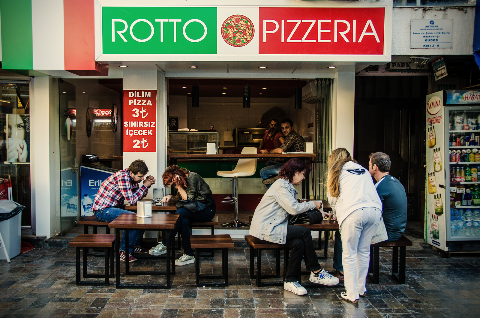 A photo of Rotto Pizzeria in Antalya.