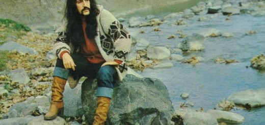 A photo of Turkish classic pop star Barış Manço